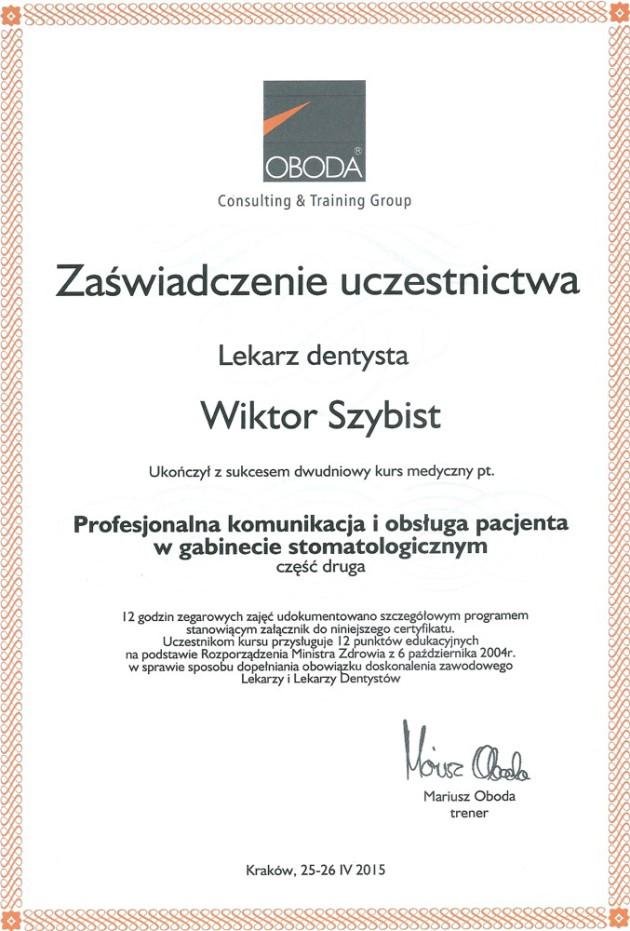 Certyfikaty 14