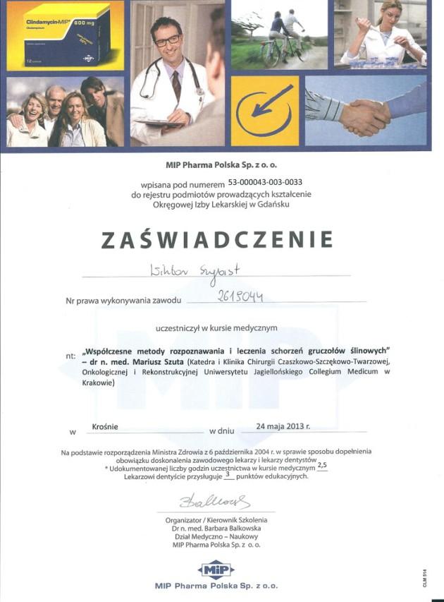 Certyfikaty 2