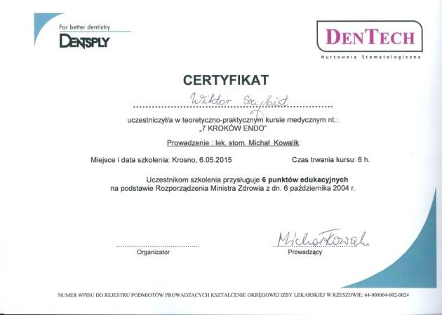 Certyfikaty 3