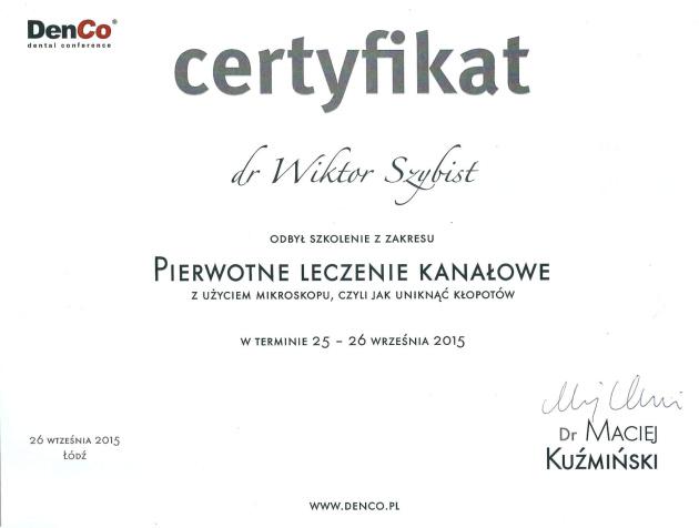 Certyfikaty 16